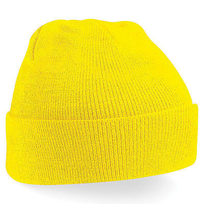 MENS   WOMENS BC045 ORIGINAL CUFFED BEANIE ONE SIZE GREAT FOR WINTER ... 185d95e987a4