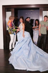 Natasha Poonawalla's Dundas dress at the Met Gala 2019