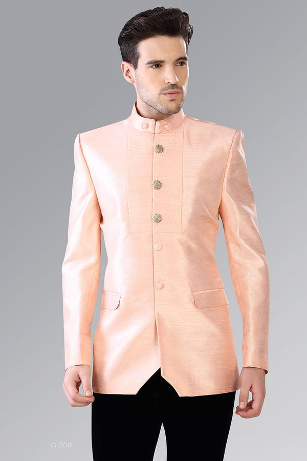 Light Pink Bandhgala