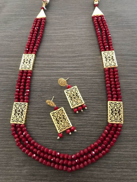 Beauiful Red Garnet Set