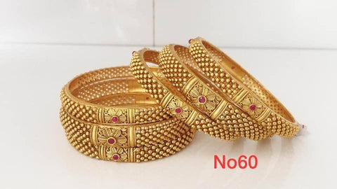 High Brass Bangles