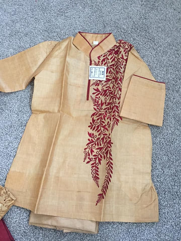 Toddler Kurta Pajama Sets for Krishna Janmashtami