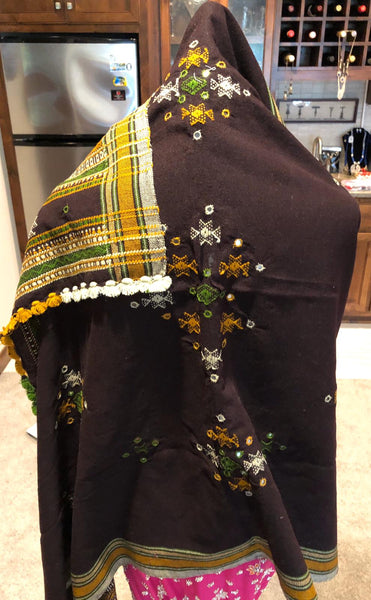 Naksatraloka Brown Shawl