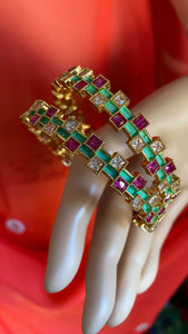 Beautiful Multicolored Glass Bangles