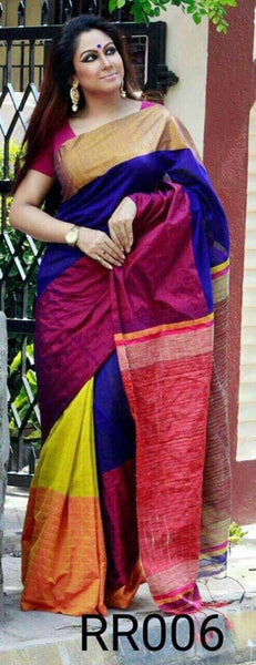 Colorful Mahapar Silk Saree