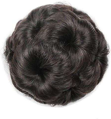 Black Colored Hair Bun For Women