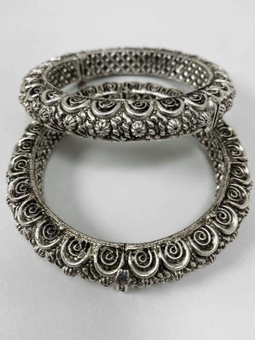 German Silver Screw On Bangles