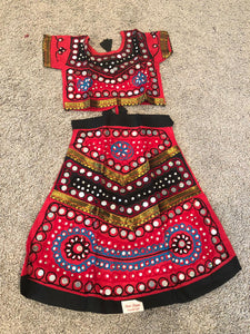 Toddler Girls Garba Ghaghra Choli