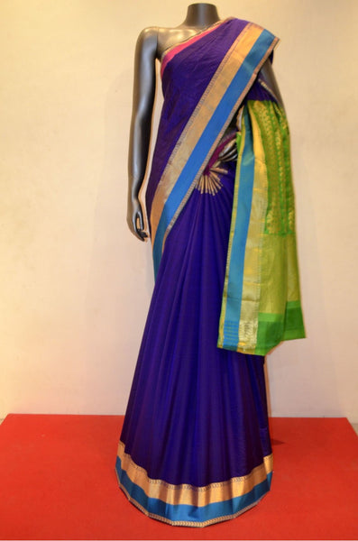 Ganga Jaumna Classic Pure South Silk Saree
