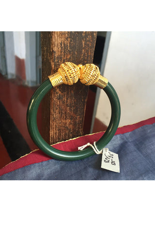 Green & Citigold Bangle from Bengal