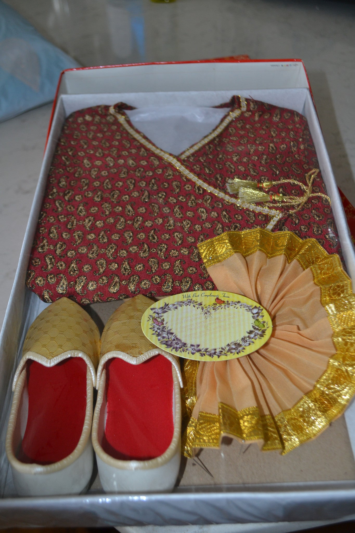 Bengali Dhoti Punjabi Set For Infant