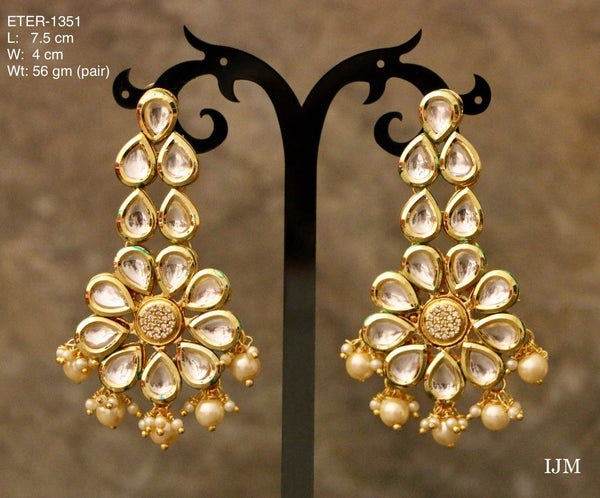 Gorgeous High Quality Kundan Earring