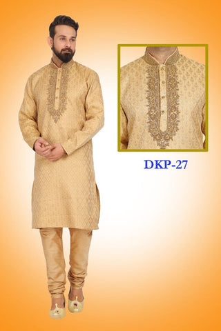 Granola Colored Kurta Pajama Set