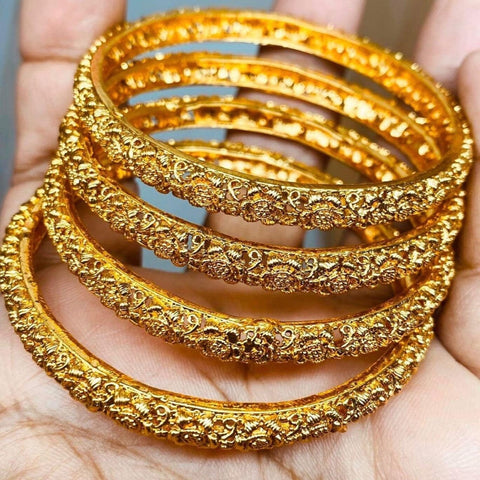 Beautiful Designed Gold Plated Bangles