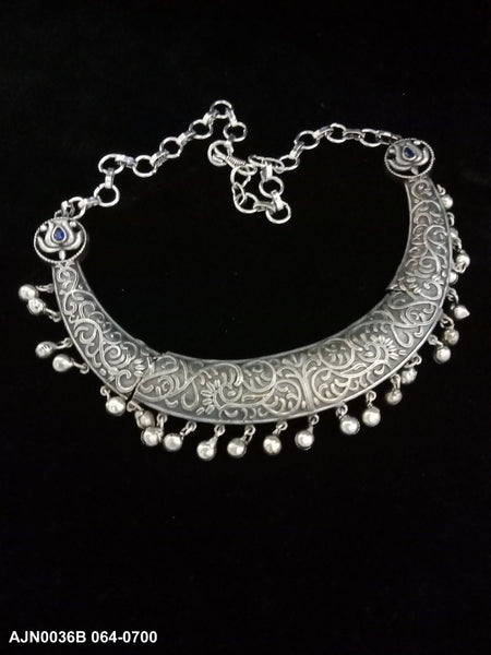 German Silver Hansli Necklace Choker