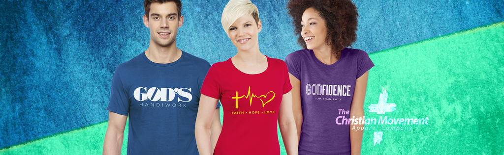 Christian Movement Apparel Company Launches Christian T-shirt Website
