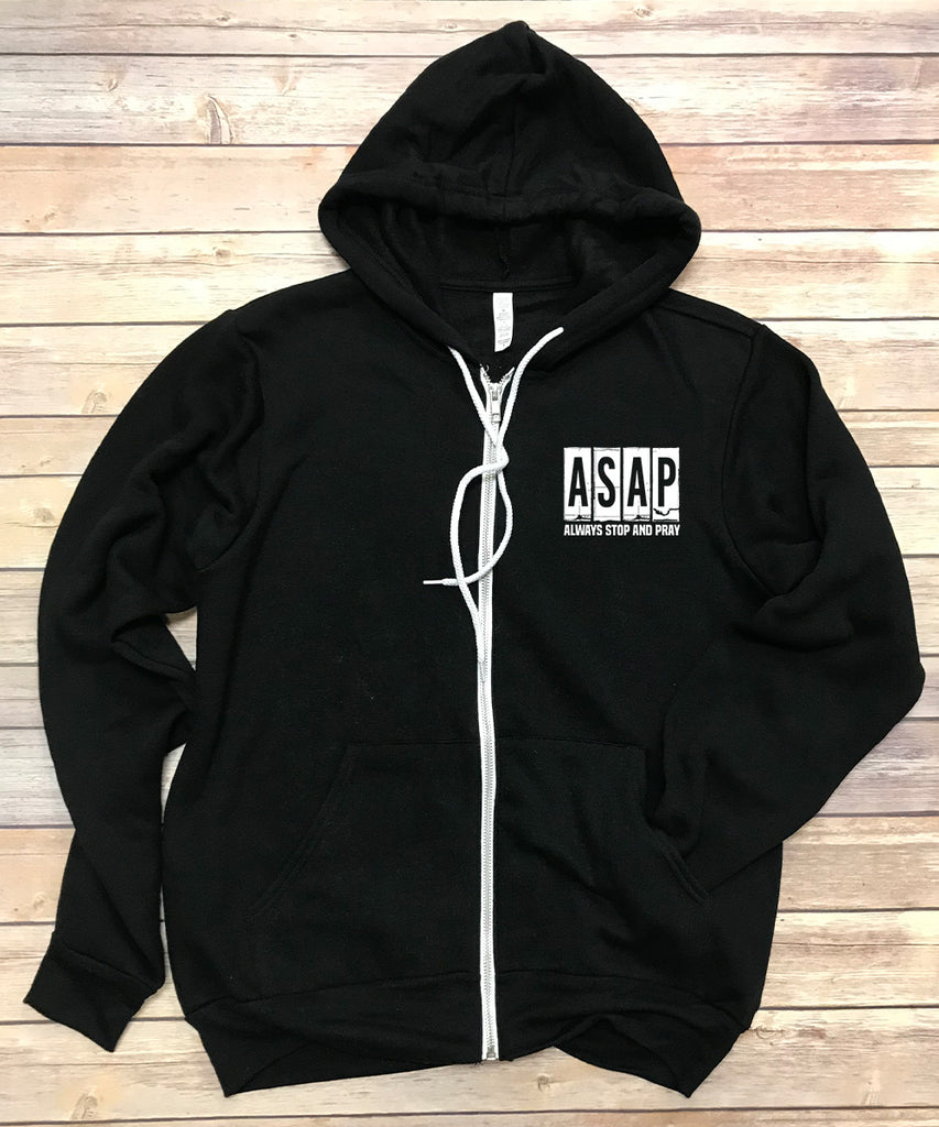 ASAP Zip Up Jacket