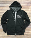 Blessed Mama Zip Up Jacket