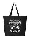 My Greatest Blessings Tote