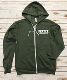 Prayer Warrior Zip Up Jacket