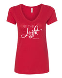 Be The Light Relax Fit V-Neck