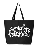 Simply Blessed Tote