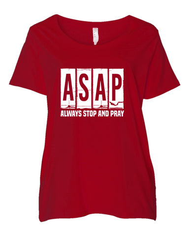 ASAP-Always Stop and Pray - Curvy Collection