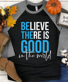 Be The Good Raglan Baseball Tee