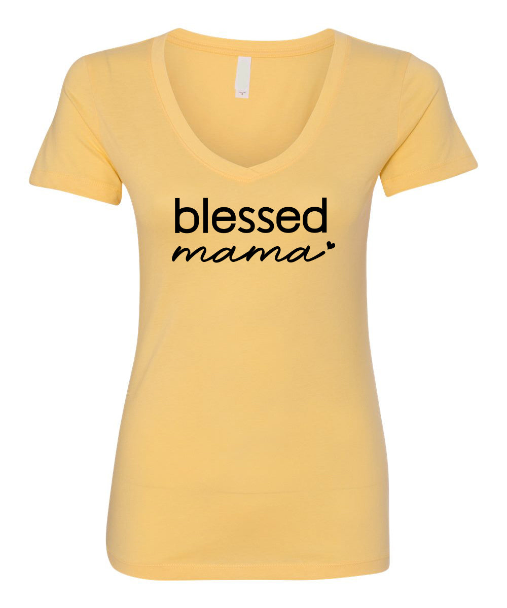 Blessed Mama II V-Neck
