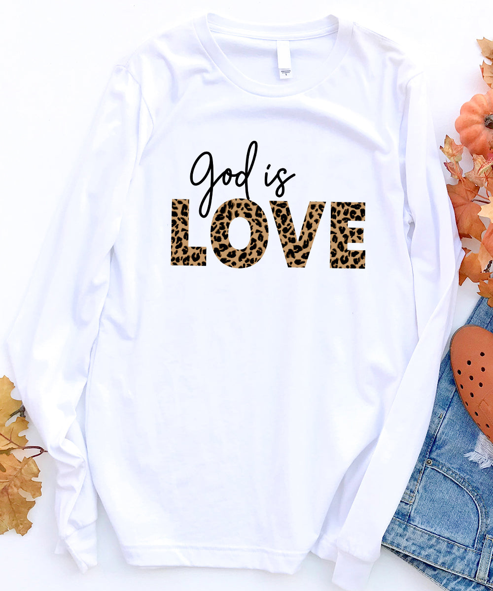 God Is Love Long Sleeve