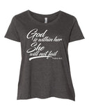God Is Within Her She Will Not Fail - Curvy Collection