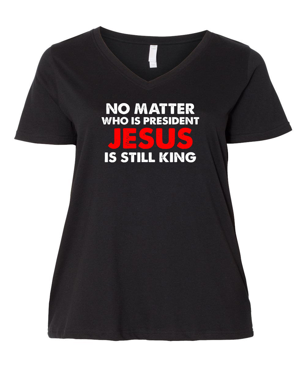 Jesus Is Still King - Curvy Collection