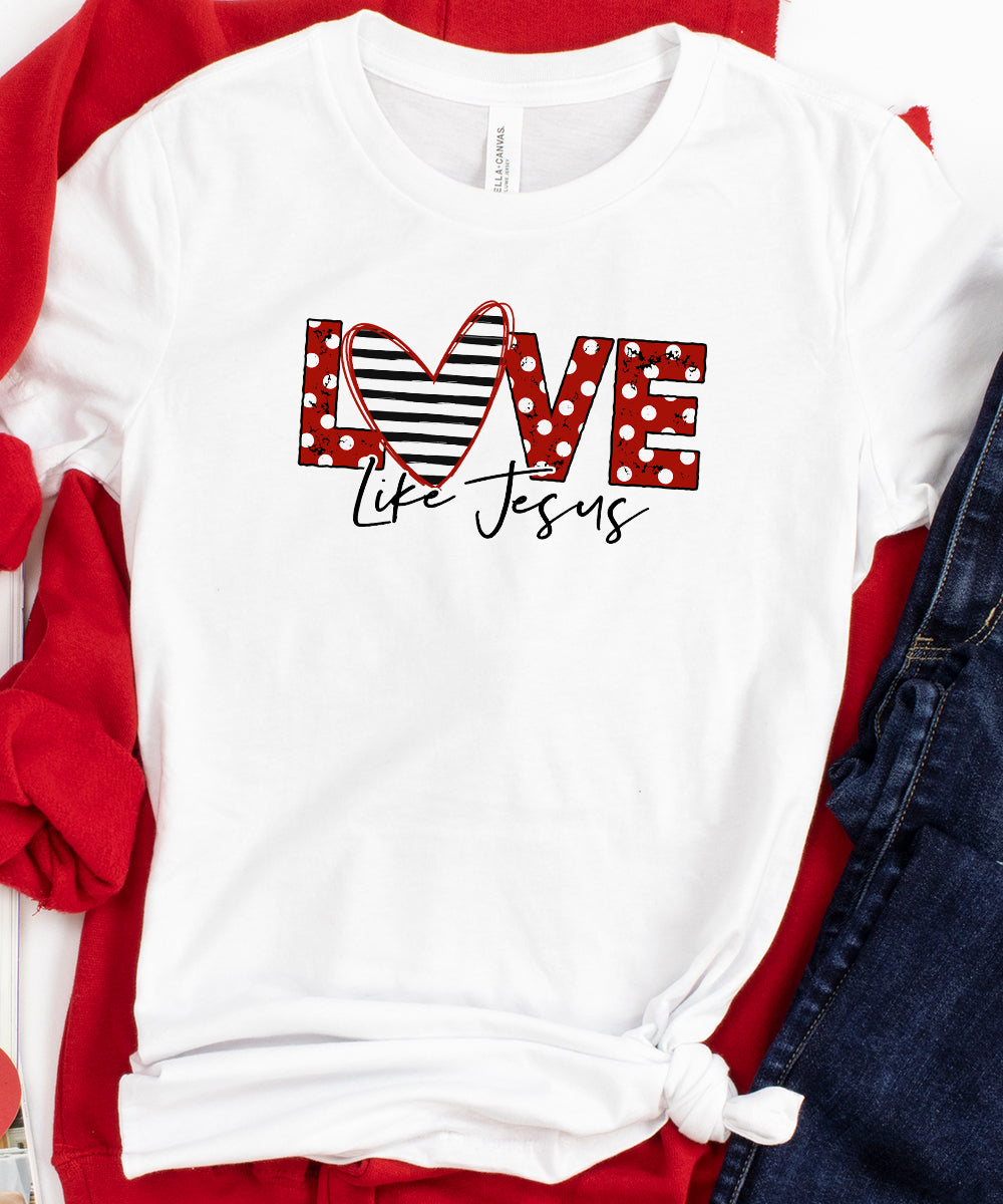 Love Like Jesus (Polka Dot)