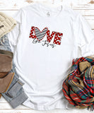 Love Like Jesus (Polka Dot) Long Sleeve