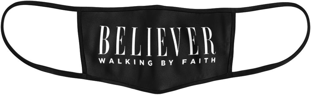 Believer Walking By Faith Mask