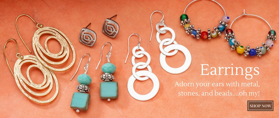 Earrings by Rachels Cure by Design