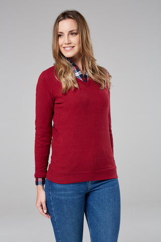 Burnham V-Neck Jumper
