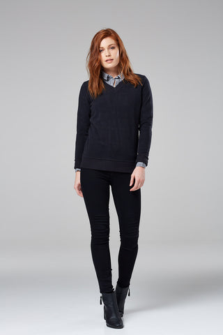 Hemsby V-Neck Jumper