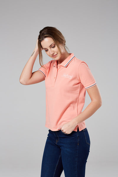 Wells Peachy Polo Shirt