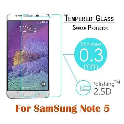 Samsung Galaxy Note 5 Tempered Glass Screen Protector - Smart Shield - 2