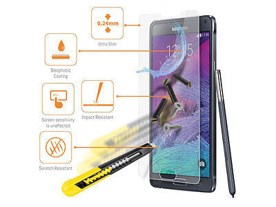 Samsung Galaxy Note 4 Tempered Glass Screen Protector - Smart Shield - 2