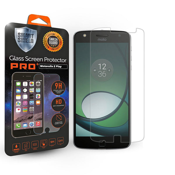 Motorola Z Play Tempered Glass Screen Protector - Smart Shield - 1