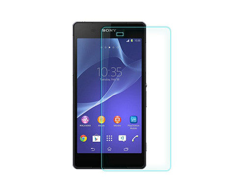 Sony Xperia Z3 Tempered Glass Screen Protector - Smart Shield - 1