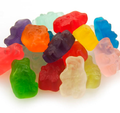 Albanese Gummi Bears 12 Flavors Assorted Fruit  bulk gummi candy 2 pound
