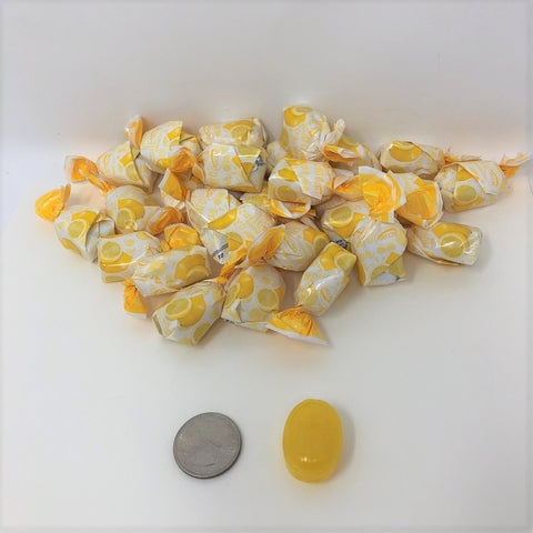 Arcor Lemon Filled Fruit Bon Bons 2 pounds bulk lemon hard candy
