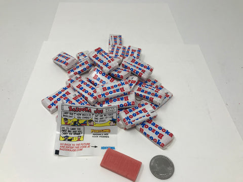 Bazooka Bubble Gum 5 pounds bulk wrapped candy Bazooka Joe