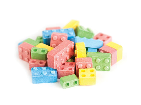 Candy Blox blocks bricks building candy 2 pounds candy building blocks