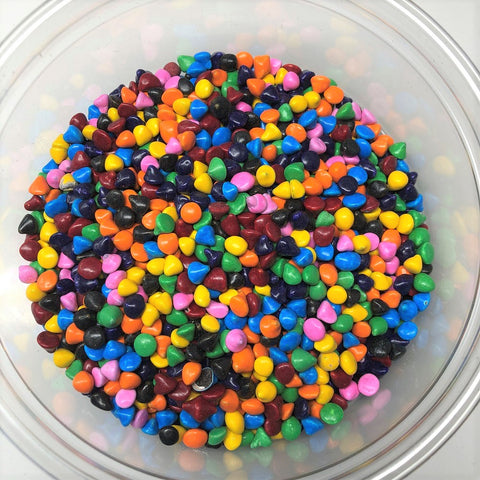 Candy Coated Rainbow Chips Sprinkles Chocolate 1 pound