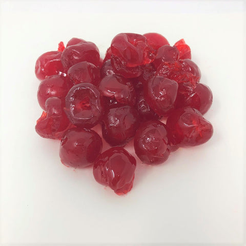 Paradise Red Whole Cherries Candied Fruit Glaze 1 pound