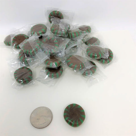 Chocolate Starlight Mints 1 pound Chocolate Star Light Starlite Mint Hard Candy